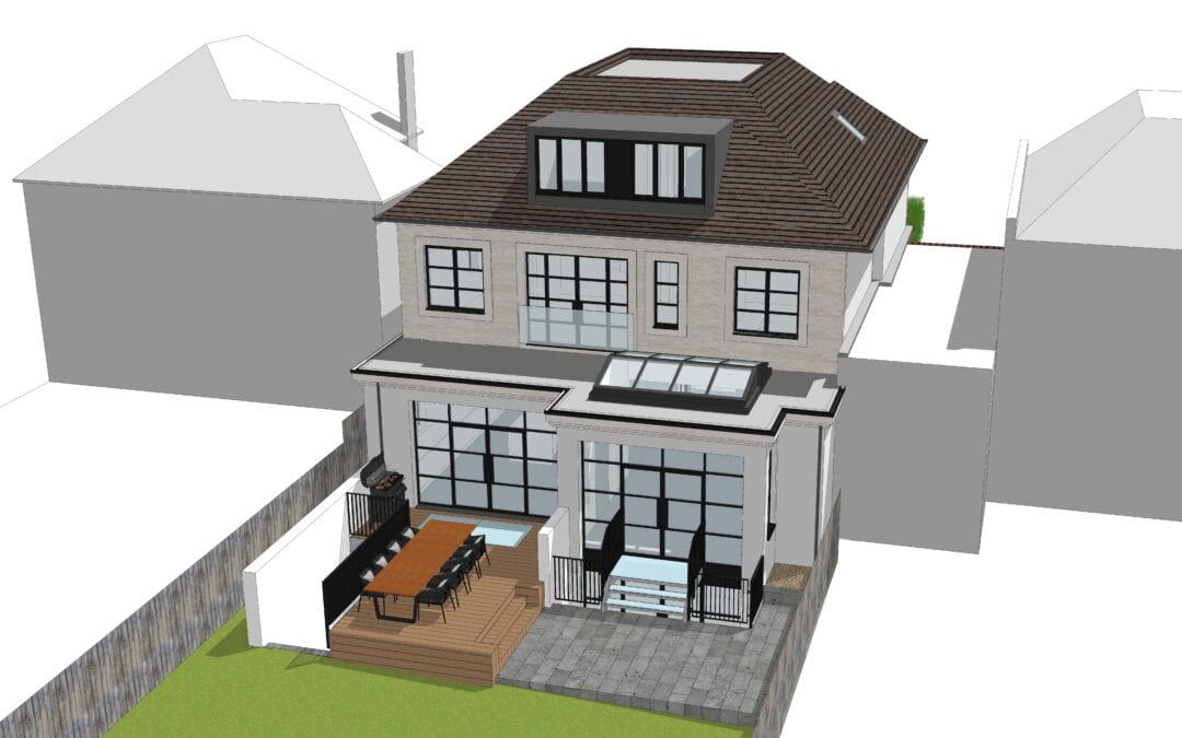 Basement design, with party wall & Geotechnical hazard assessment