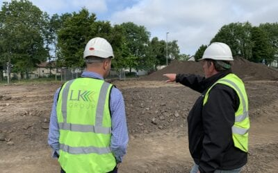 LK Group breaks ground for first phase of Manchester Victoria North